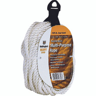 Lehigh Group 16356 1/4 Inch By 50 Foot Twisted Nylon Rope