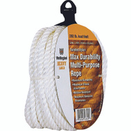 Lehigh Group 16358 3/8 Inch By 50 Foot Twisted Nylon Rope