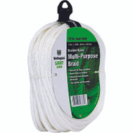 Lehigh Group 16365 Braided Nylon Rope 1/4 Inch By 100 Feet 75 Pound