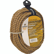 Lehigh Group 25662 Unmanila 3/8 Inch By 50 Foot Polypropylene Rope