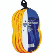 Lehigh Group 30646 3/8 Inch By 50 Foot Braided Poly Rope