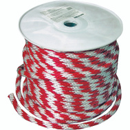 Lehigh Group 46411 Derby Red / White 5/8 Inch By 200 Foot Rope