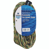 Lehigh Group 73394 1/4 Inch By 50 Foot Camouflage Poly Rope