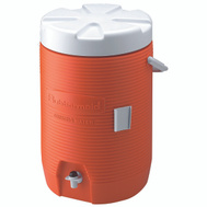 Rubbermaid Home 1683-01 11 3 Gal Orange Commercial Water Cooler