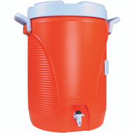Rubbermaid Home 1840999 5 Gal Orange Commercial Water Cooler