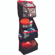 Crawford FSSBH16 Rawlings Horizontal Sports Storage Organizer Red Black