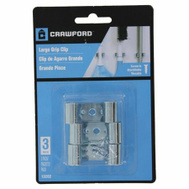 Crawford 13202 Organizing Tool Clips Large 3 Pack