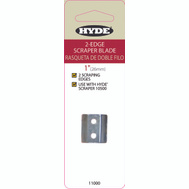 Hyde 11000 Paint Scraper 2 Edge Blade Replacement Blade 1 Inch