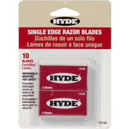 Hyde 13110 Single Edge Razor Blades 10 Pack