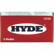 Hyde 13120 Single Edge Razor Blades 5 Pack
