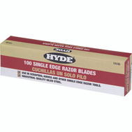 Hyde 13135 Single Edge Razor Blades