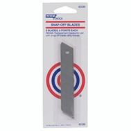 Hyde 42330 Utility Knife Replacement Snap Off Blade 18Mm 5 Pack