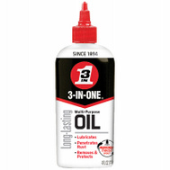 3 In One 100703 Multi-Purpose Oil With Telescoping Spout 4 Ounce