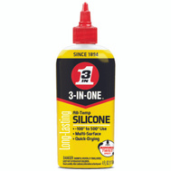 3 In One 120008 Silicone Drip Lubricant 4 Ounce