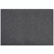 Lanart Rug Inc LLDG2460 Mat Floor Charcoal 24In X 60In