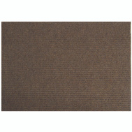 Lanart Rug Inc LLBR2460 Mat Floor Brown 24In X 60In