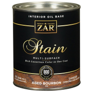 UGL 115 Zar Aged Bourbon Interior Wood Stain Oil Based Quart