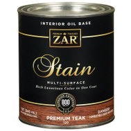 UGL 120 Zar Premium Teak Interior Wood Stain Oil Based Quart