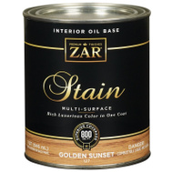 UGL 127 Zar Golden Sunset Interior Wood Stain Oil Based Quart