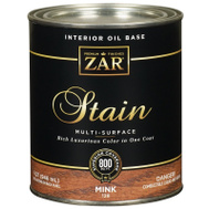 UGL 128 Zar Mink Interior Wood Stain Oil Based Quart