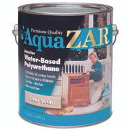 UGL 32413 Zar Clear Gloss Interior Water Based Polyurethane Gallon