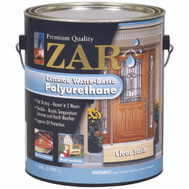 UGL 32713 Zar Clear Amber Satin Exterior Water Based Polyurethane Gallon