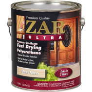 UGL 34013 ZAR Clear Gloss Ultra Exterior Oil Based Polyurethane Gallon Exterior Gloss Polyurethane