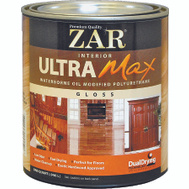 UGL 36012 ZAR Gloss Ultra Max Waterborne Oil Modified Interior Pyurethane Quart