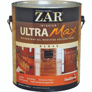 UGL 36013 ZAR Gloss Ultra Max Waterborne Oil Modified Interior Pyurethane Gallon