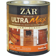 UGL 36112 ZAR Semi Gloss Ultra Max Waterborne Oil Modified Interior Pyurethane Quart
