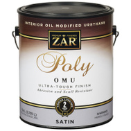 UGL 36213 ZAR Satin Ultra Max Waterborne Oil Modified Interior Pyurethane Gallon