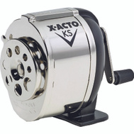 Elmers 1031 X Acto Black Table Or Wall-Mount Heavy Duty Pencil Sharpener