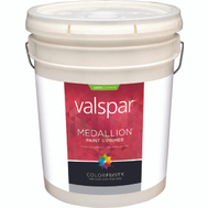 Valspar 4100 Medallion White Exterior Satin Latex Lifetime