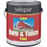 Valspar 3121-10 Barn & Fence Paint Barn Fence Latex Red Gallon