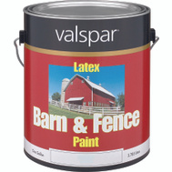 Valspar 3121-70 Barn & Fence Gallon White Barn/Fence Latex