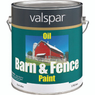 Valspar 3141-75 Barn & Fence Paint Barn Fence Oil White Gallon