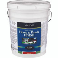 Valspar 5225.7 Home & Ranch Paint Barn Fence Latex Red 5 Gallon