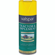 Valspar 5339 Tractor & Implement Transport Yellow Farm Spray Paint