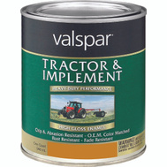 Valspar 4432-08 Tractor & Implement Caterpillar Yellow Farm Quart