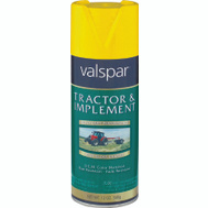 Valspar 5339-08 Tractor & Implement Caterpillar Yellow Farm Spray Paint