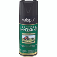 Valspar 5339-16 Tractor & Implement Gloss Black Farm Spray Paint