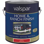Valspar 5221.7 Home & Ranch Paint Barn Fence Latex Red Gallon