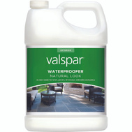 Valspar 82092 Clear Natural Look Waterproofing Sealer For Concrete Gallon Water Based
