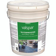 Valspar 82092 Clear Natural Look Waterproofing Sealer For Concrete 5 Gallon Water Based