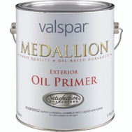 Valspar 183 Medallion Primer Exterior Oil White Gallon