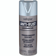 Valspar 21940 Anti Rust Aluminum Gloss Anti Rust Spray Enamel