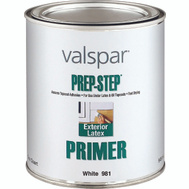 Valspar 981 Prep Step Quart White Exterior Latex Primer