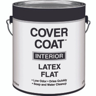 Valspar 255 Cover Coat Contractor Interior Flat White Gallon