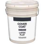 Valspar 255 Cover Coat Contractor Interior Flat White 5 Gallon