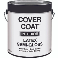 Valspar 455 Cover Coat Contractor Interior Semi-Gloss White Gallon